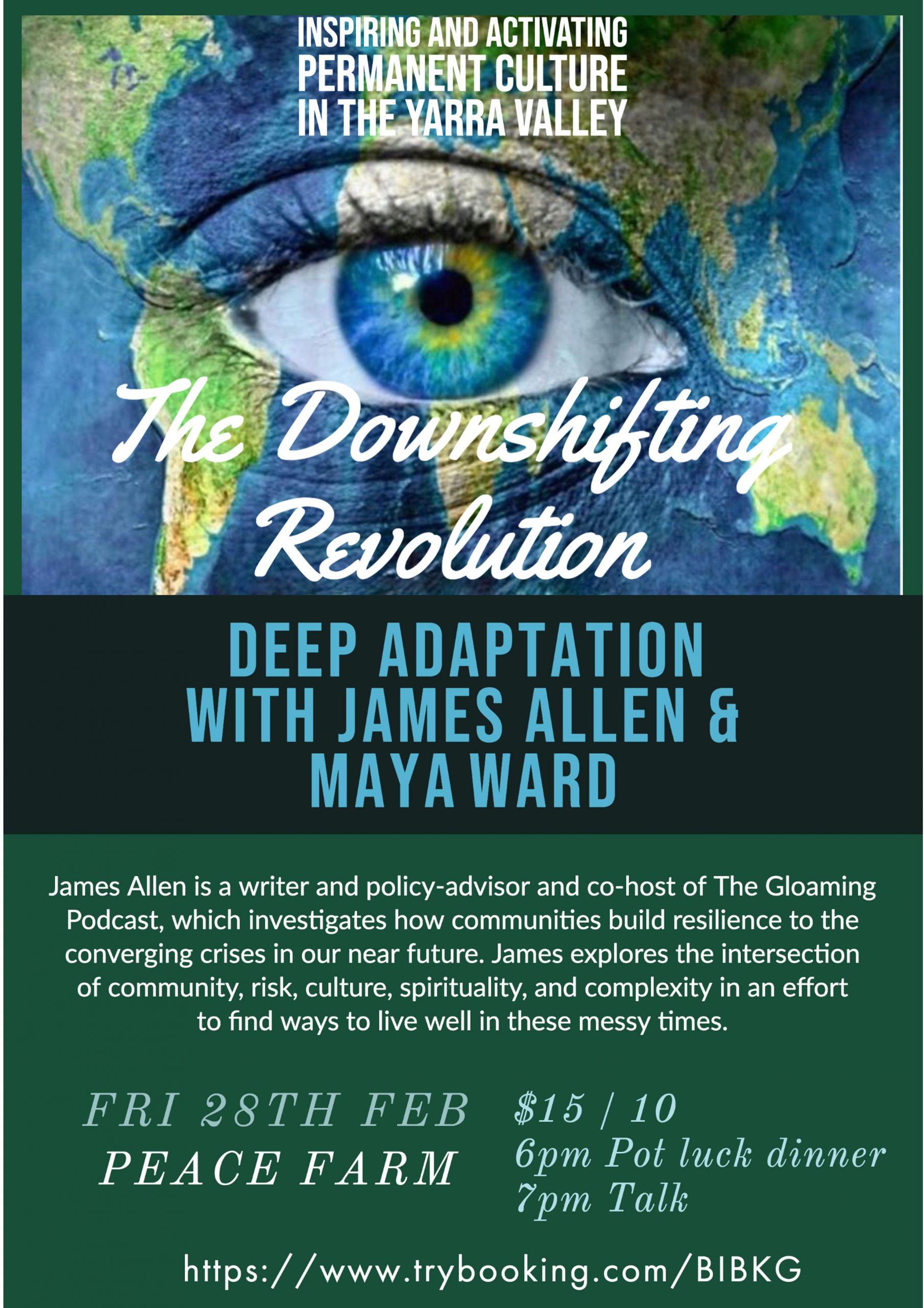 downshifting revolution poster